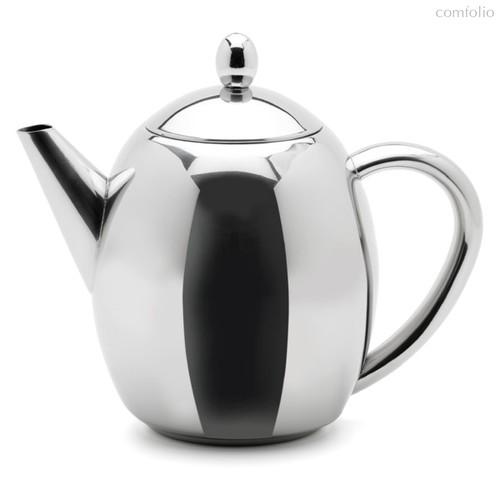 Чайник заварочный Weis с металлическим фильтром, 1л, сталь - Weis