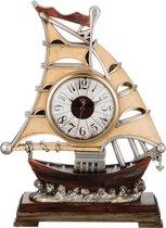 Часы Настольные Кварцевые Парусник 32X11, 5X41 см Диаметр Циферблата 12 см - Shantou Lisheng