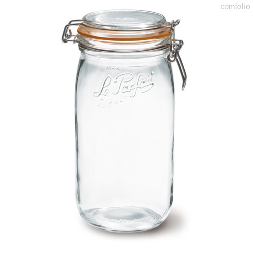 Банка для консервирования с защелкивающейся крышкой Le Parfait 1,5л, стекло - Le Parfait