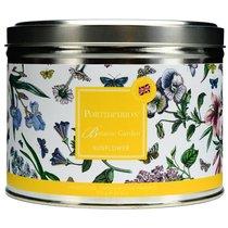 """Свеча в жестяной банке с крышкой, с 3 фитилями Portmeirion """"Ботанический сад. Подсолнух"""" 13см - Portmeirion"""