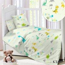 CДA-10-029/KT-100 Дино КПБ Детский в кроватку Сатин АльВиТек - АльВиТек
