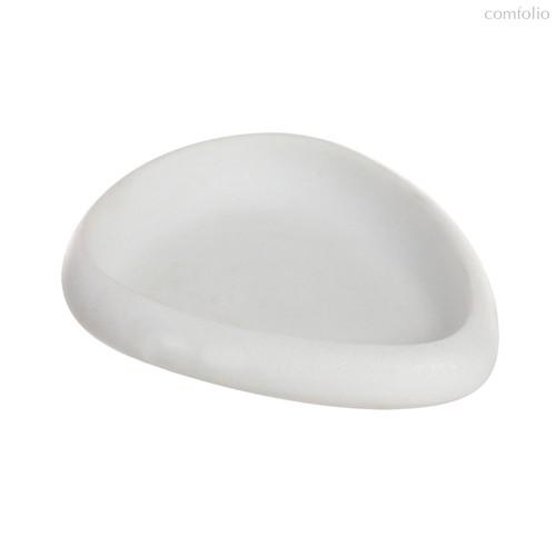 Мыльница Arena Stone белая, цвет белый - D'casa