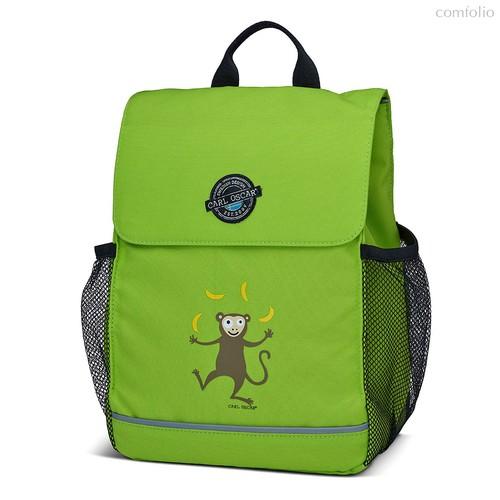 Рюкзак детский Pack n' Snack™ Monkey лайм, цвет зеленый - Carl Oscar