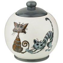 Сахарница Коллекция Озорные Коты 380 мл 10x10x11 см - Hongda Ceramics
