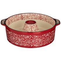 Форма Для Выпечки Круглая 28x24x8 Cм Красная - Sundisk ceramics