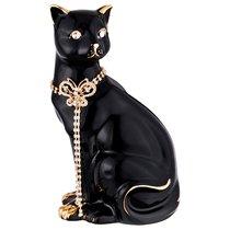 Статуэтка Кошка С Цепочкой 13x11См,Высота 25см - Jinding