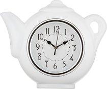 Часы Настенные Кварцевые Chef Kitchen Цвет:Белый 29X5X27 смДиаметр Циферблата 13 см - Arts & Crafts