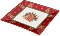БЛЮДО CHRISTMAS COLLECTION 22x22 см - Jinding