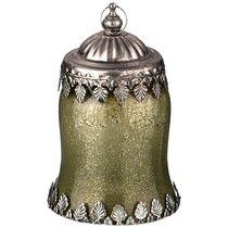 Светильник С Led-Подсветкой И Металл.Элементами, Д 9 см, В 15 см, Зеленый - Comego