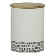 Емкость для хранения Monochrome большая белая 2 л - Typhoon