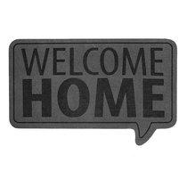 Коврик придверный Welcome Home серый, цвет серый - Balvi