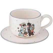 Чайный Набор На 1 Персону 2 Пр. Муу. Ля Мур 420 мл - Jiafa Ceramics
