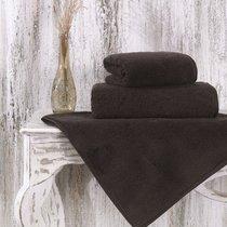 "Полотенце микрокотон ""KARNA"" MORA цветной 40x60 1/1 600gr m2, цвет коричневый, 40x60 - Bilge Tekstil"