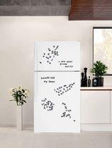 Набор магнитов на холодильник Alphabet - Suck UK