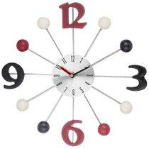 Часы Настенные 32, 5X32, 5X4 см Циферблат Диаметр 10 см - Guangzhou Weihong