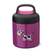 Термос для еды LunchJar™ Cow 0.3л фиолетовый, цвет фиолетовый - Carl Oscar