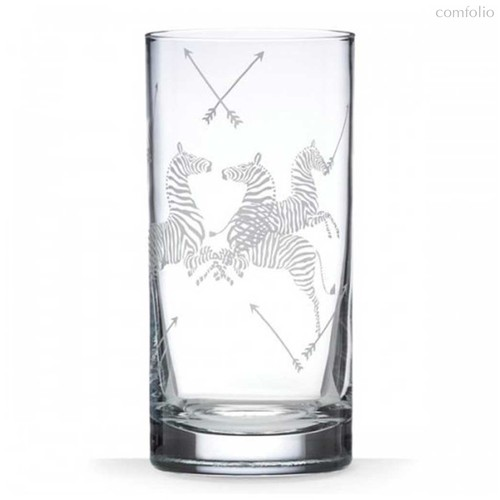 "Набор стаканов для воды Lenox ""Зебры.Скаламандре"" 470мл, 2шт - Lenox"
