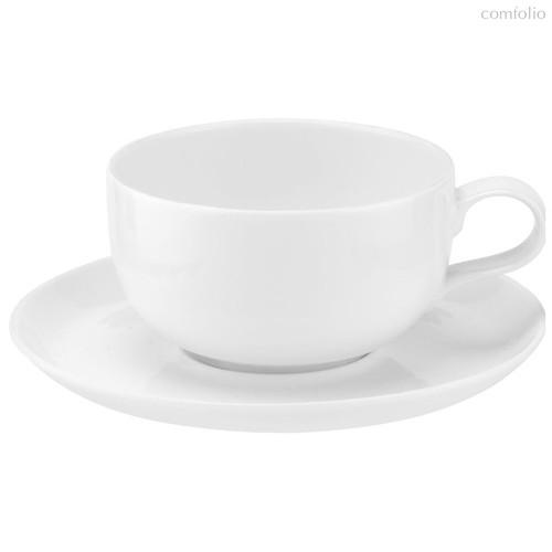 """Чашка чайная с блюдцем Portmeirion """"Выбор Портмейрион"""" 340мл (белая) - Portmeirion"""
