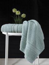 "Полотенце махровое ""KARNA"" SERRA 50х90 см 1/1, цвет зеленый - Bilge Tekstil"