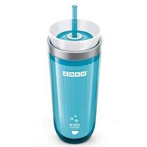 Стакан для охлаждения напитков Iced Coffee Maker голубой - Zoku
