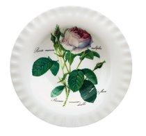 Тарелка суповая 24 см Роза Редаут - Roy Kirkham