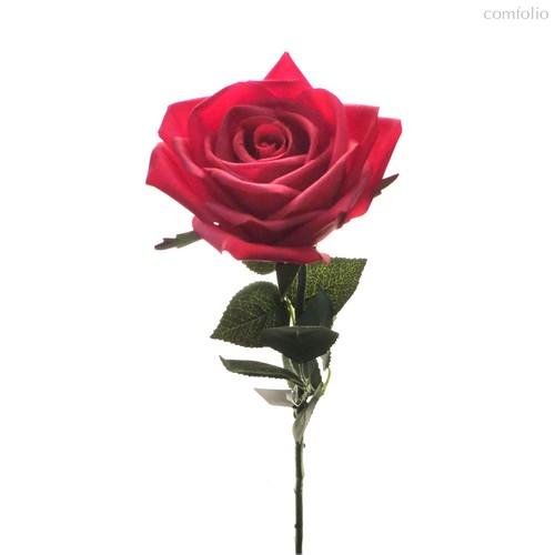 Роза Гран При красная 65 см живое прикосновение (24 шт.в упак.) - Top Art Studio