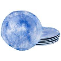 Набор Тарелок Десертных Из 6 шт. Диаметр 26 см Коллекция Парадиз Цвет Голубая Лагуна, цвет голубой, 26 см - Hebei Grinding Wheel Factory