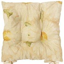 """Подушка на стул """"Лучистые ромашки"""", 41х41 см, P805-8643/2, цвет желтый - Apolena"""