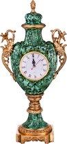Часы Настольные 25x15 см Высота 55 см Диаметр Циферблата 10 см - Jinding