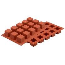 Форма для приготовления пирожных Cube 3,5 х 3,5 см силиконовая - Silikomart