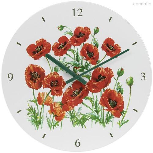 Часы настенные диаметр 30см Маки - Lesser & Pavey