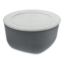 Контейнер для хранения продуктов CONNECT L Organic 2 л темно-серый - Koziol