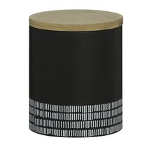 Емкость для хранения Monochrome средняя черная 1 л - Typhoon