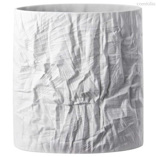 """Ваза 31см """"Структура, белая бумага"""" (Мартин Фрейер) - Rosenthal"""