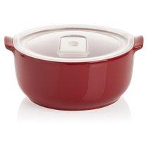Форма для запекания круглая с герметичной крышкой Esprit de cuisine 0,8л (малиновая) - Esprit de cuisine