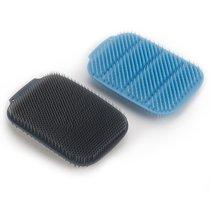 Набор из 2 малых щеток для мытья посуды CleanTech синий/серый - Joseph Joseph