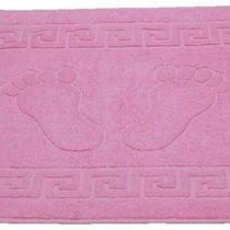Полотенце-коврик для ног Pink (розовый), цвет розовый, 50x70 - Roseberry