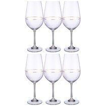 Набор Бокалов Для Вина Viola Elegance Из 6 шт. 550 мл Высота 25 см - Crystalex