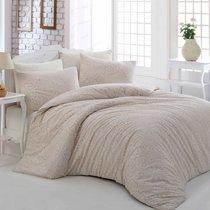 Постельное белье Ranforce Rozi, цвет кремовый, размер 1.5-спальный - Altinbasak Tekstil