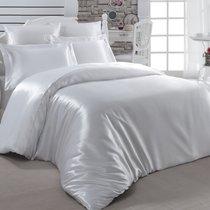 Постельное белье Karna Arin, шелк, цвет белый, размер 2-спальный - Karna (Bilge Tekstil)