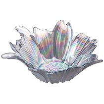Блюдо Глубокое/Ваза Для Фруктов Beauty Blue-Grey 24см Без Упаковки - Akcam