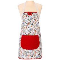 Фартук Пикник ,Цветной+Красный,100% Х\Б, - Santalino