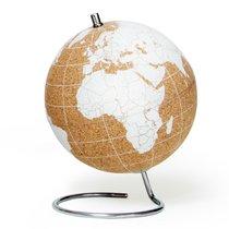 Глобус Cork Globe, белый, ?14 см - Suck UK