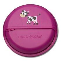 Ланч-бокс для перекусов SnackDISC™ Cow фиолетовый, цвет фиолетовый - Carl Oscar