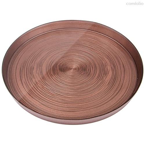 Тарелка Miracle Choco Высокий Борт 28 см Без Упаковки - Akcam