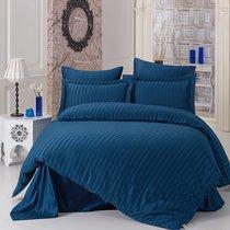 Постельное белье Karna Perla, бамбук, цвет синий, 2-спальный - Bilge Tekstil