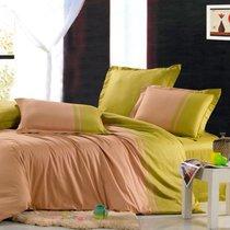Доминика - комплект постельного белья, цвет оливковый, 1.5-спальный - Valtery