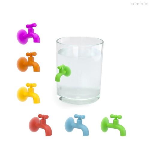 Маркеры для бокалов Tap 6шт., цвет разноцветный - Balvi