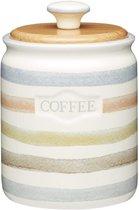 Классик Емкость для кофе с деревянной крышкой керамическая 800мл 16х11см - KitchenCraft