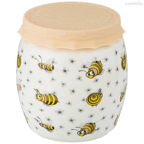 Банка С Силиконовой Крышкой Пчелы 1000 мл - Shunxiang Porcelain